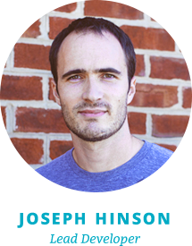 Joseph Hinson, lead developer for Out:think Group