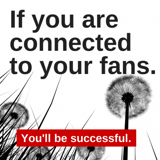 Connect with your fans